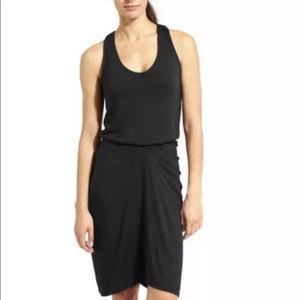 Athleta Daytrip Dress Black Racerback